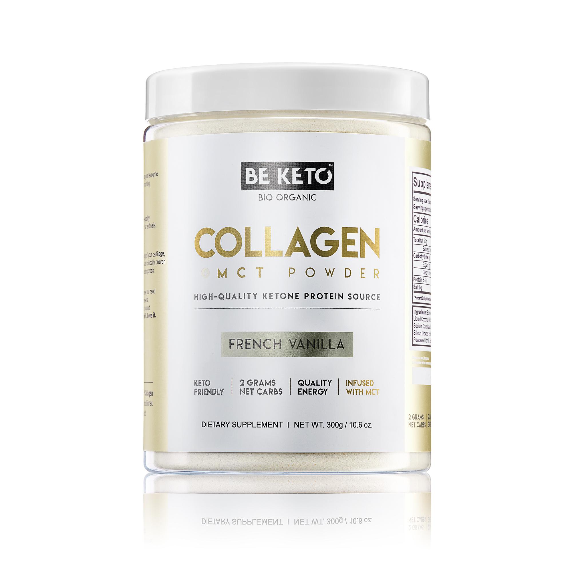 Keto Collagen + MCT Oil - French Vanilla