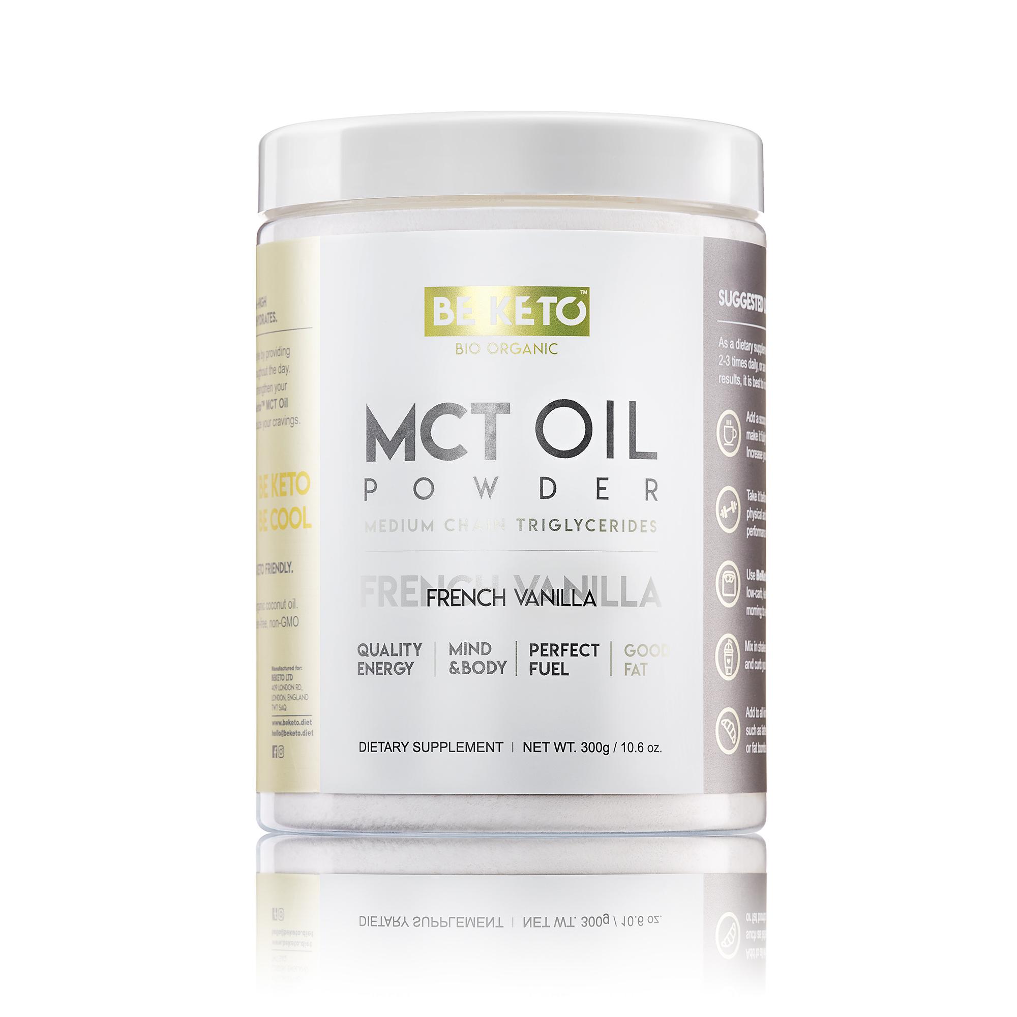 MCT Oil Powder - French Vanilla