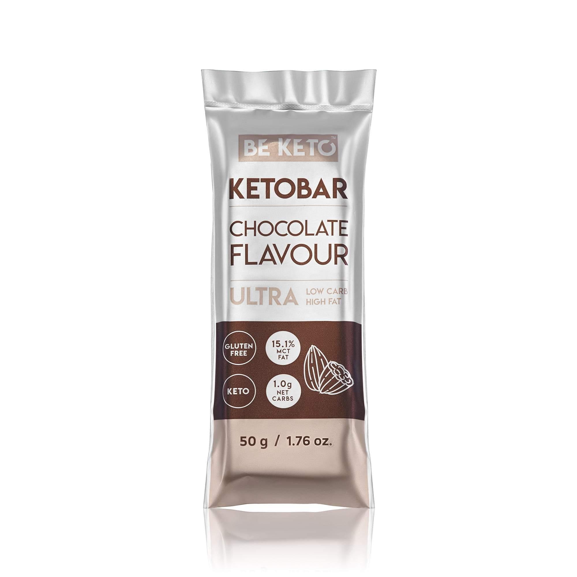 Keto Bar - Natural Chocolate - 50G