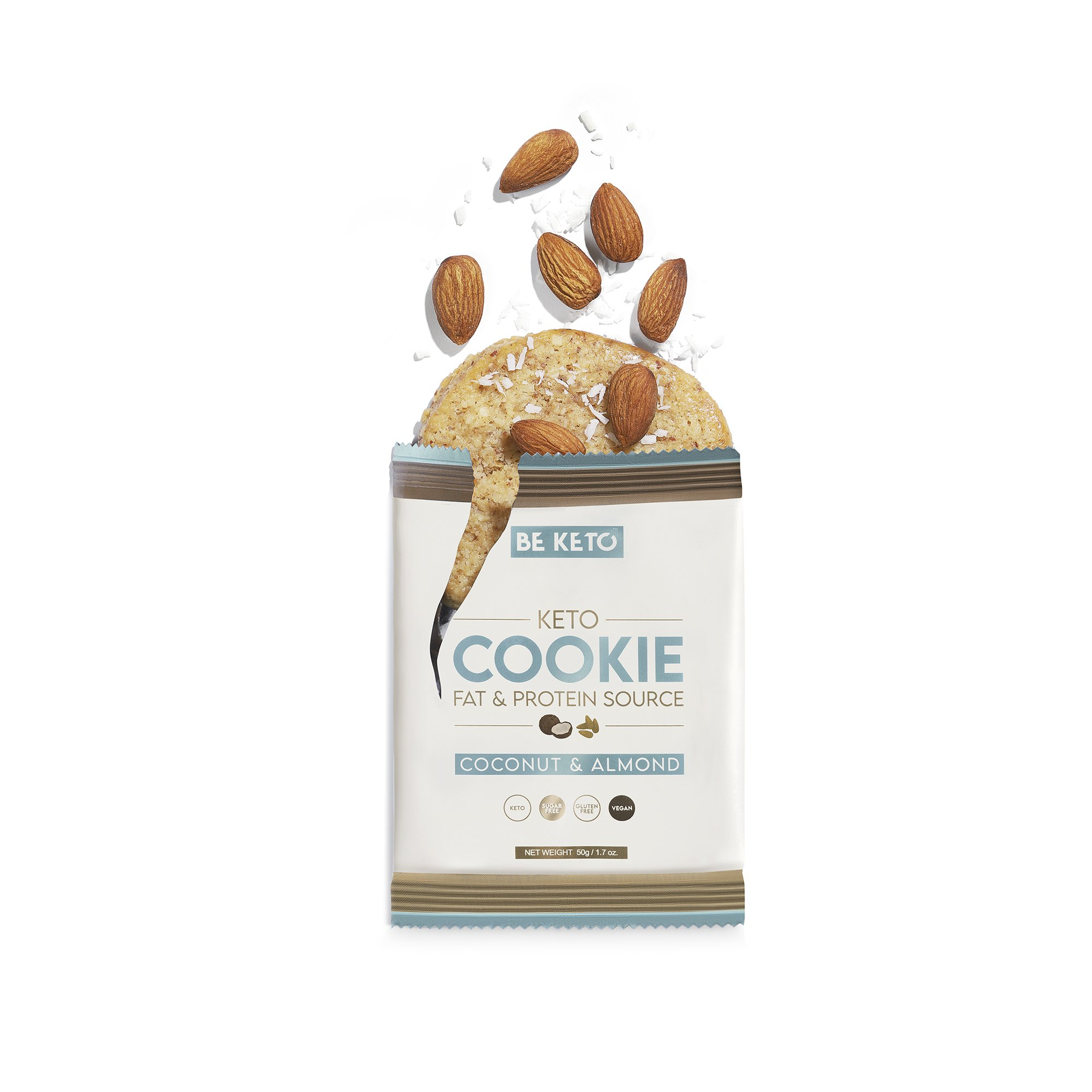 Keto Cookies Coconut & Almond 50G