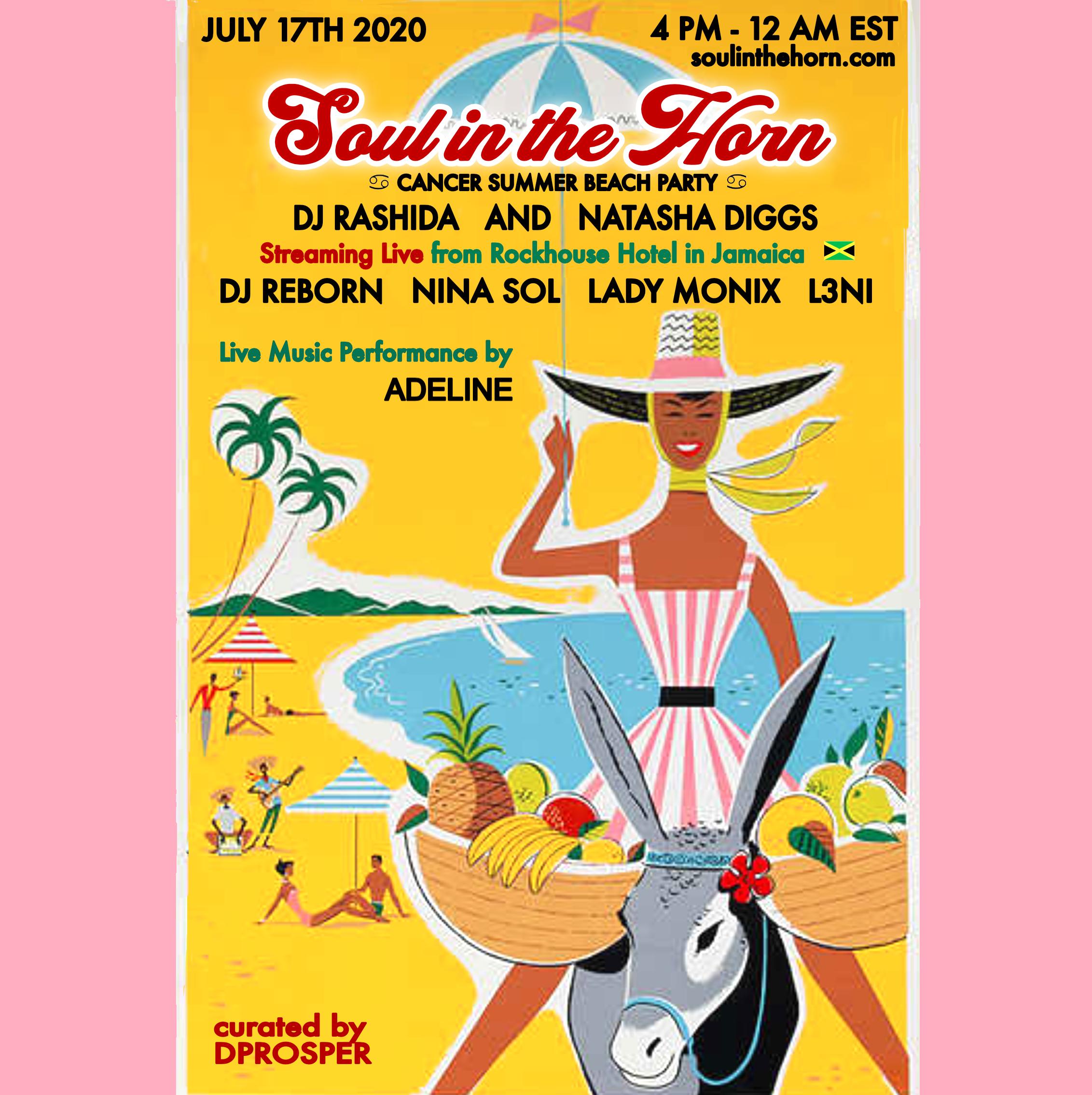 Global Vibrations Rashida Birthday Jamaica