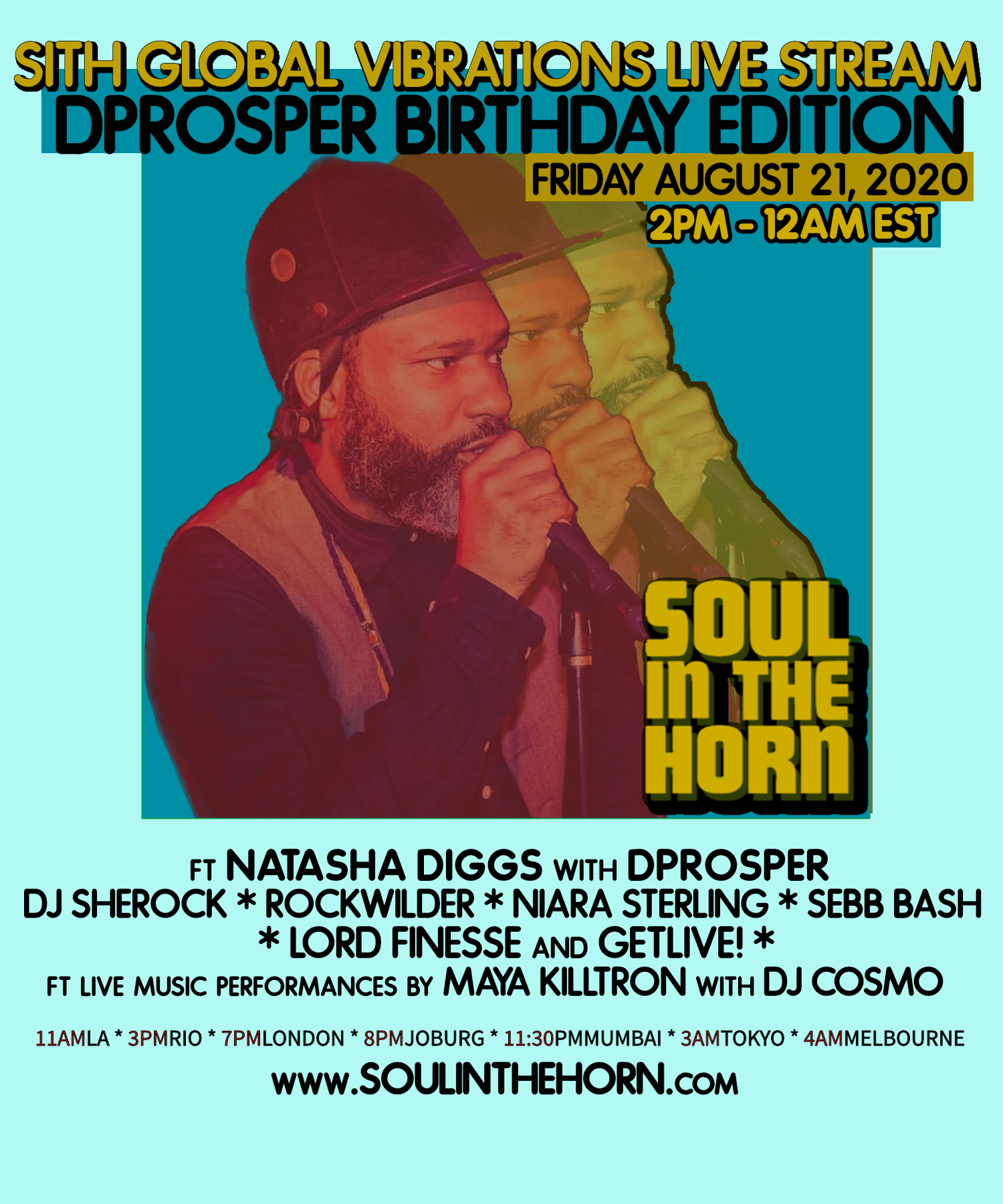 Global Vibrations Vol.12 DProsper BDay Edition