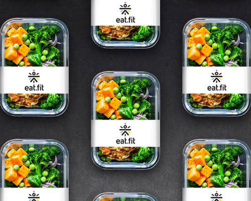 Food Packaging Solution - eat.fit  cure.fit