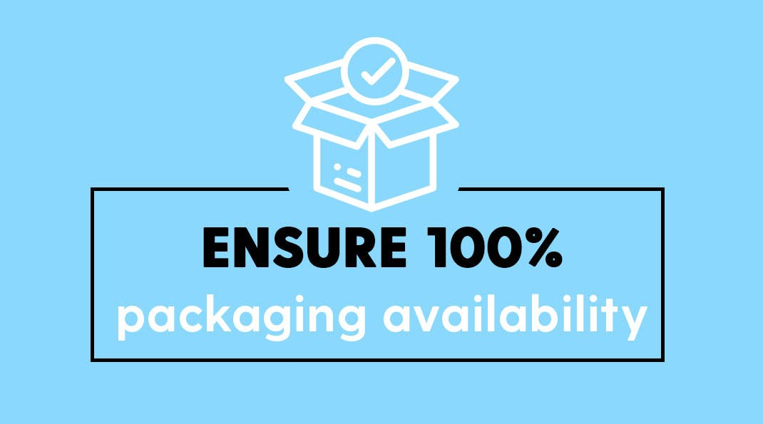 Winning Packaging Supply Chain Strategy Impact - No stock-outs