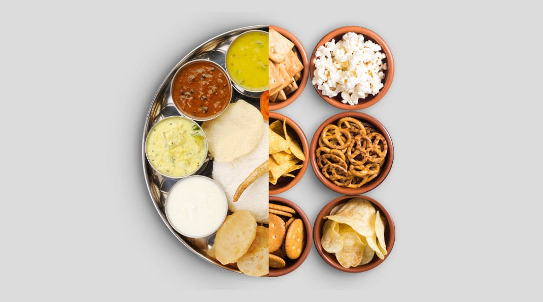 India's Change in Food Habits