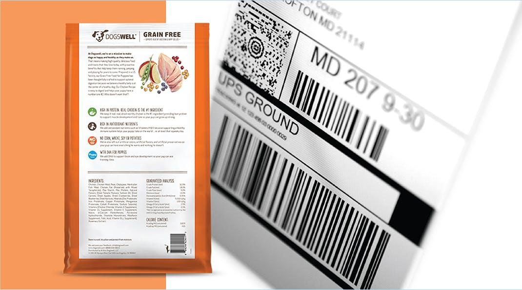 FSSAI Packaging Regulations - Back of Pack