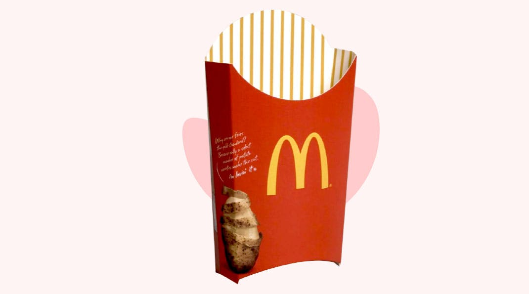 Color Psychology in Packaging - McDonalds [Red]