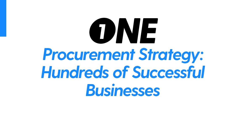 1 corrugated box procurement strategy