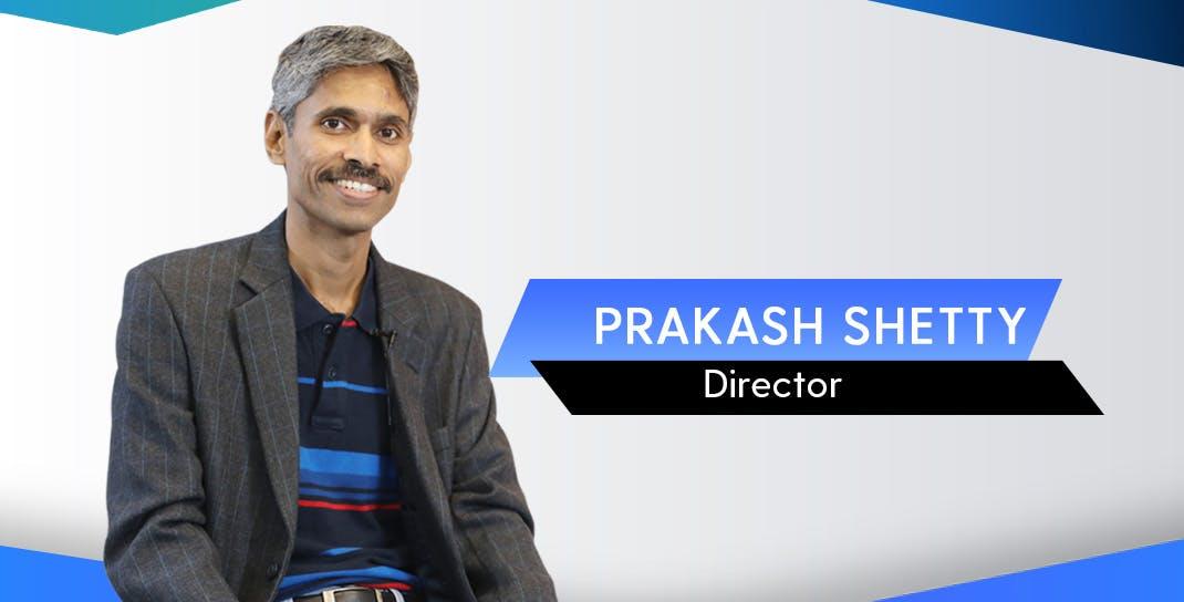 Prakash Shetty, Director, Bizongo