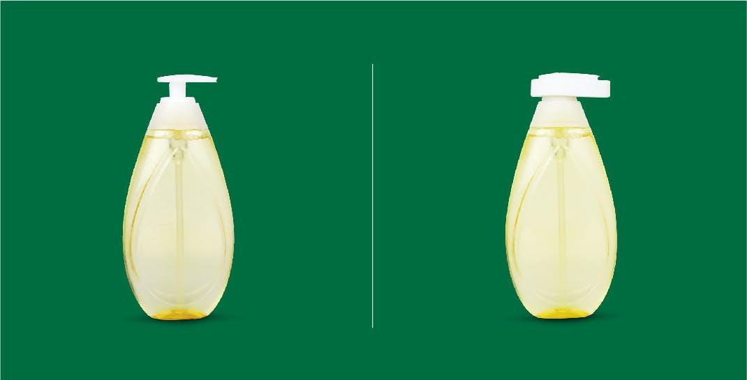 Shampoo Bottle Pump - Neck | Before & After