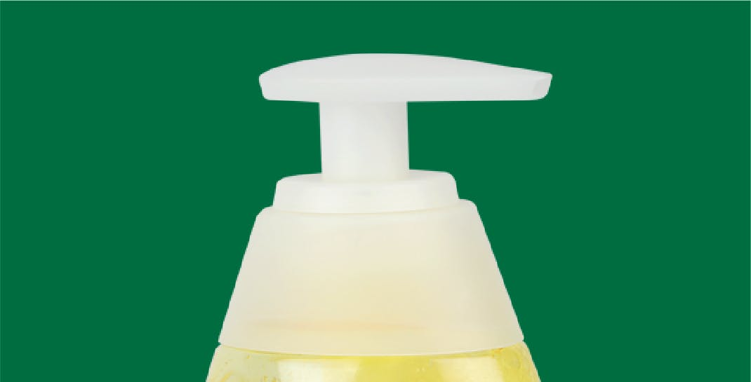 Shampoo Bottle Pump - Neck without Protection