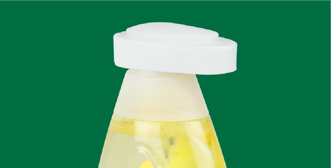Shampoo Bottle Pump - Neck with Protection