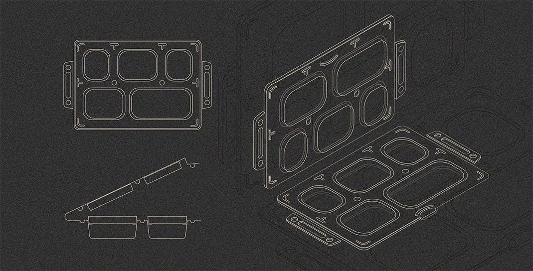 Biodegradable Meal Tray Framework - Packaging Development