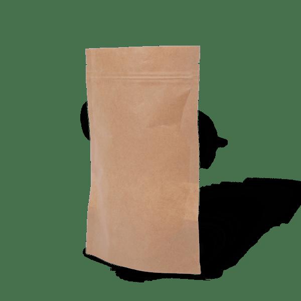 Ziplock Bottom Gusset Pouch