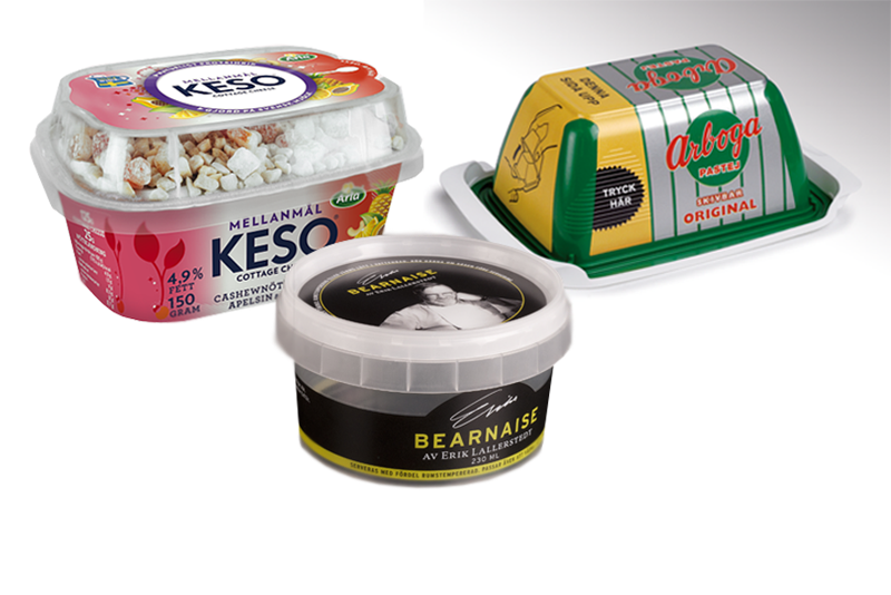 Dairy Packaging - Recyclable Pulp Fibres