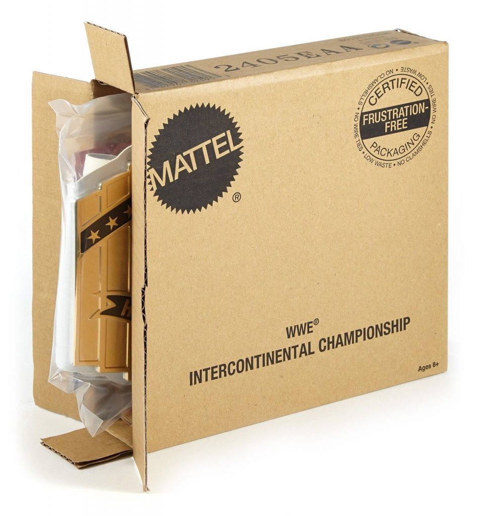 Paper Packaging  - Amazon Frustration free packaging
