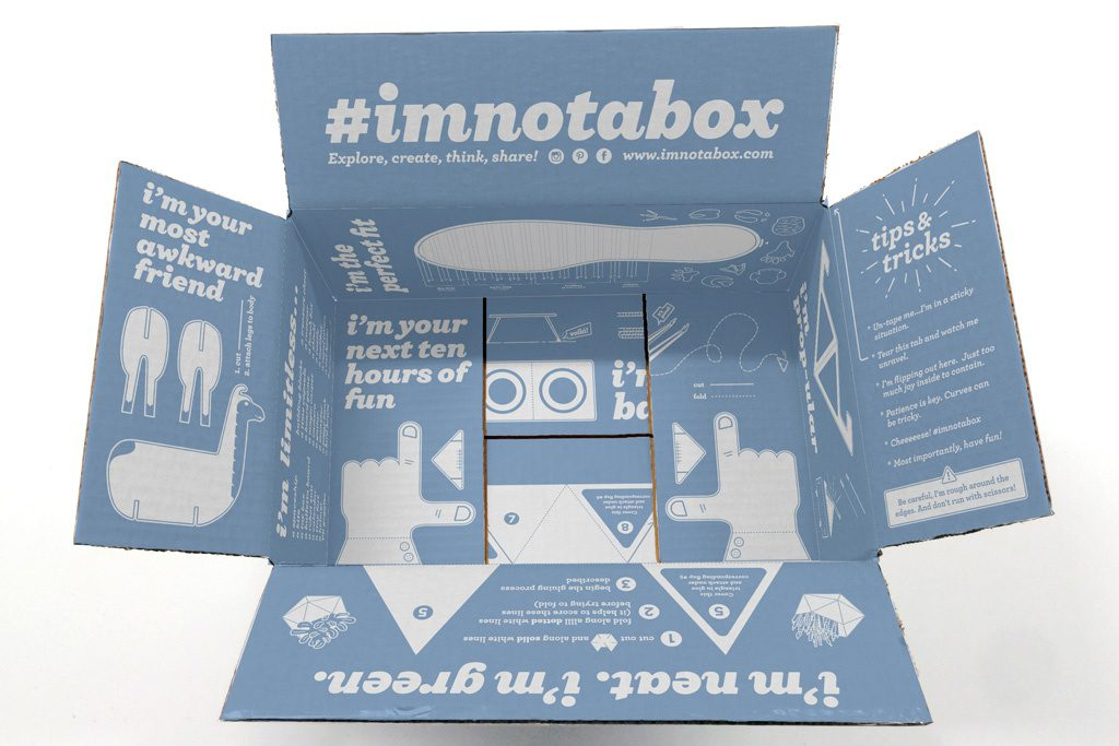 Paper Packaging  - Zappos Multi-utility box