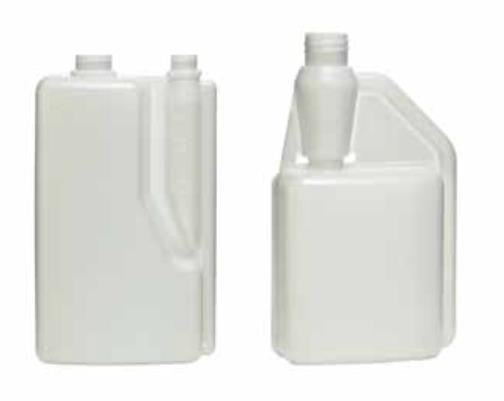 oil packaging innovations - 2 chambers oil bottle