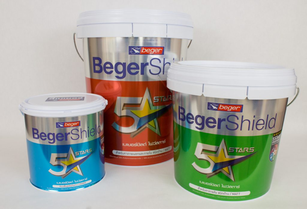 Berger premium - innovative label designs