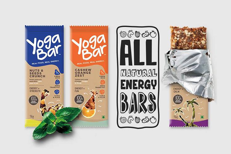 modern packaging design - yogabar