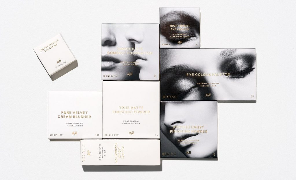 H&M beauty - sustainable packaging