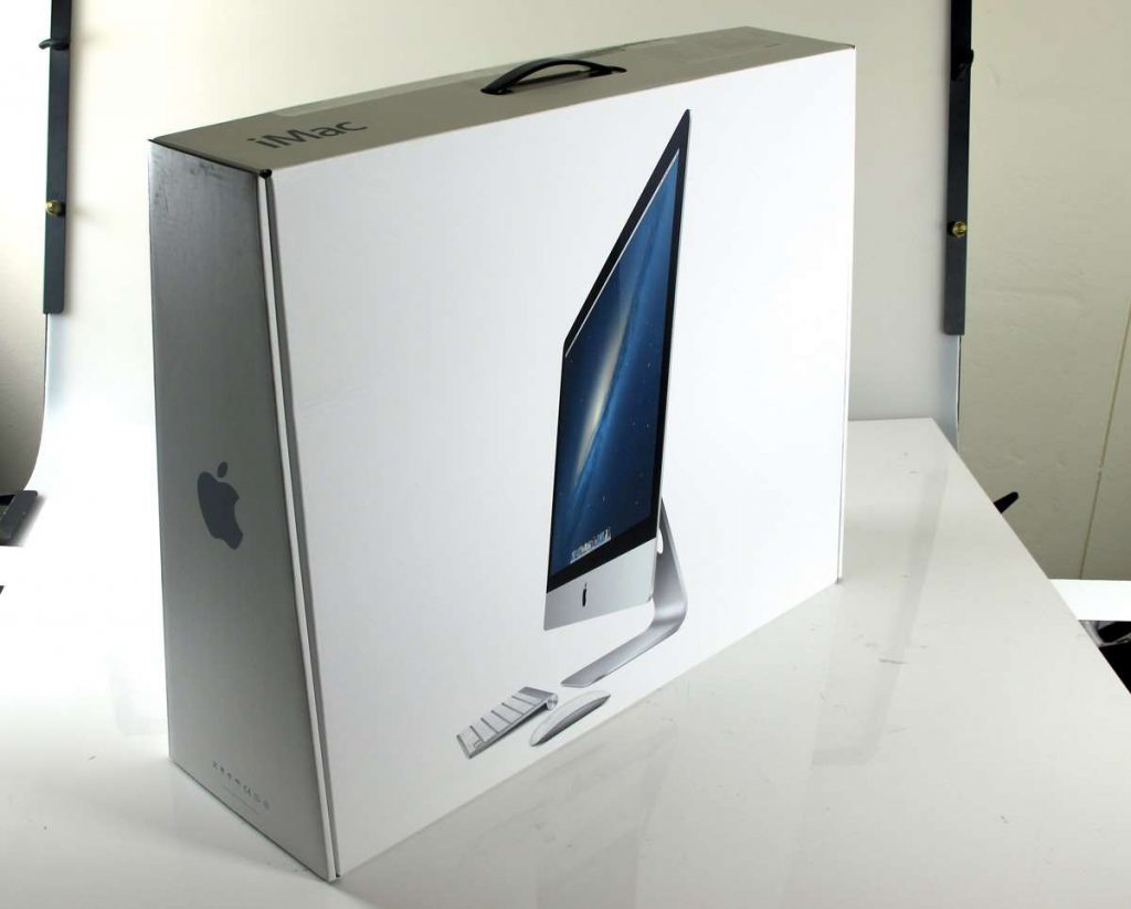 iMac Pro - sustainable packaging