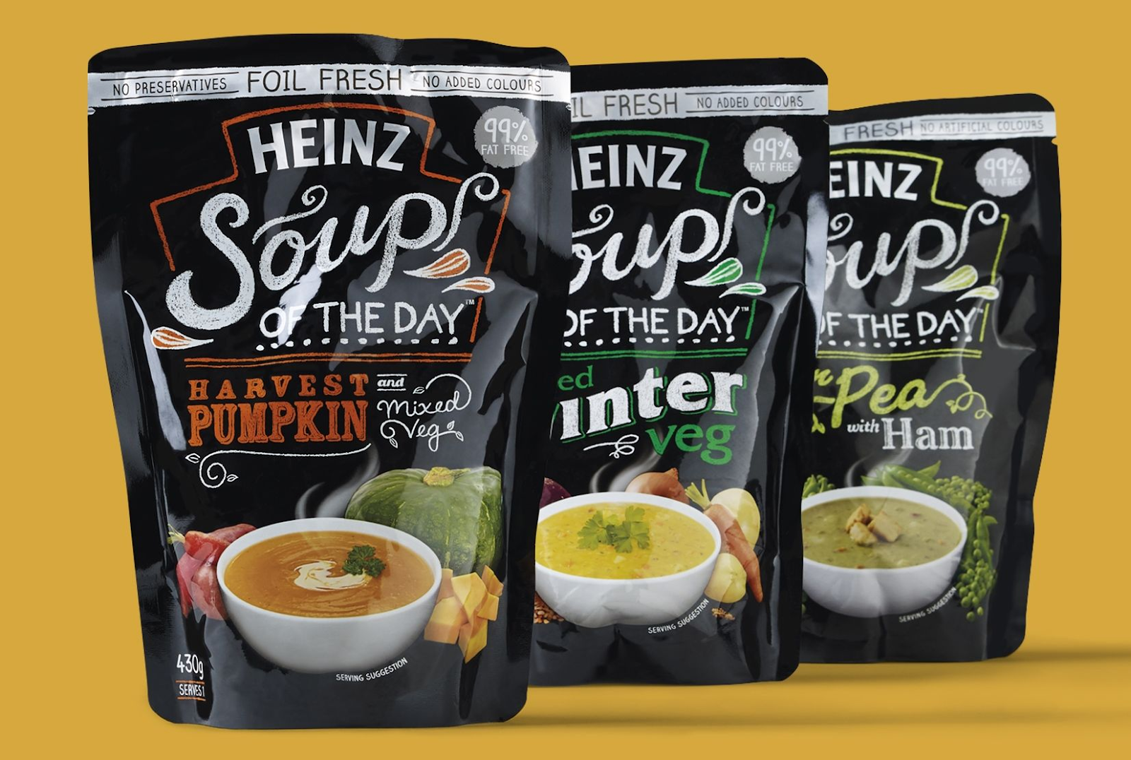 Retort Pouch as Packaging - Soup