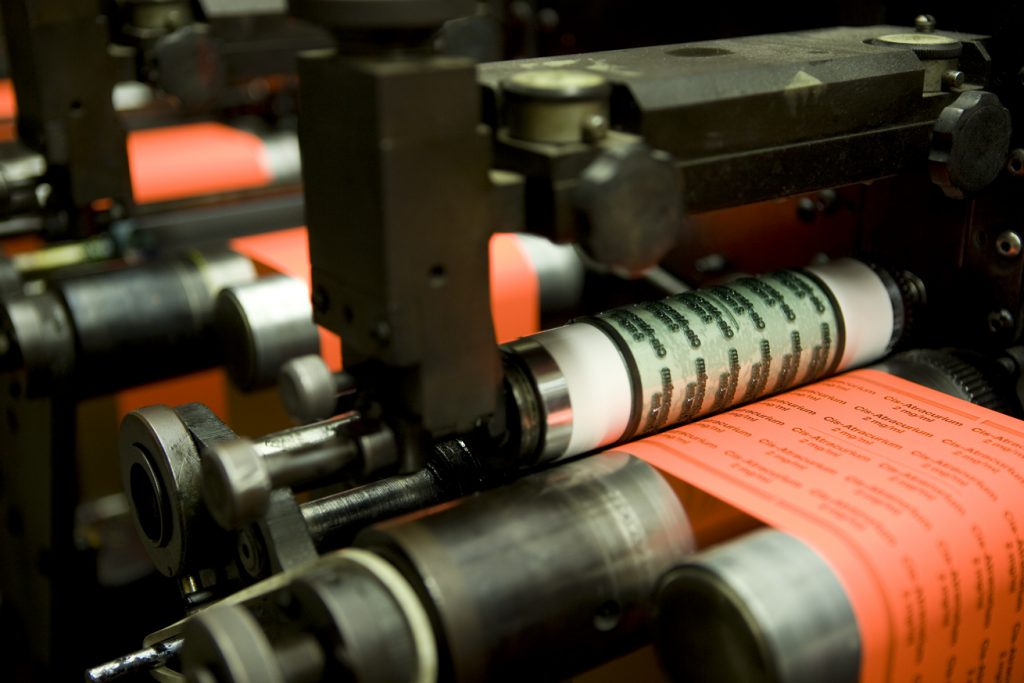 Flexographic vs Lithographic Printing