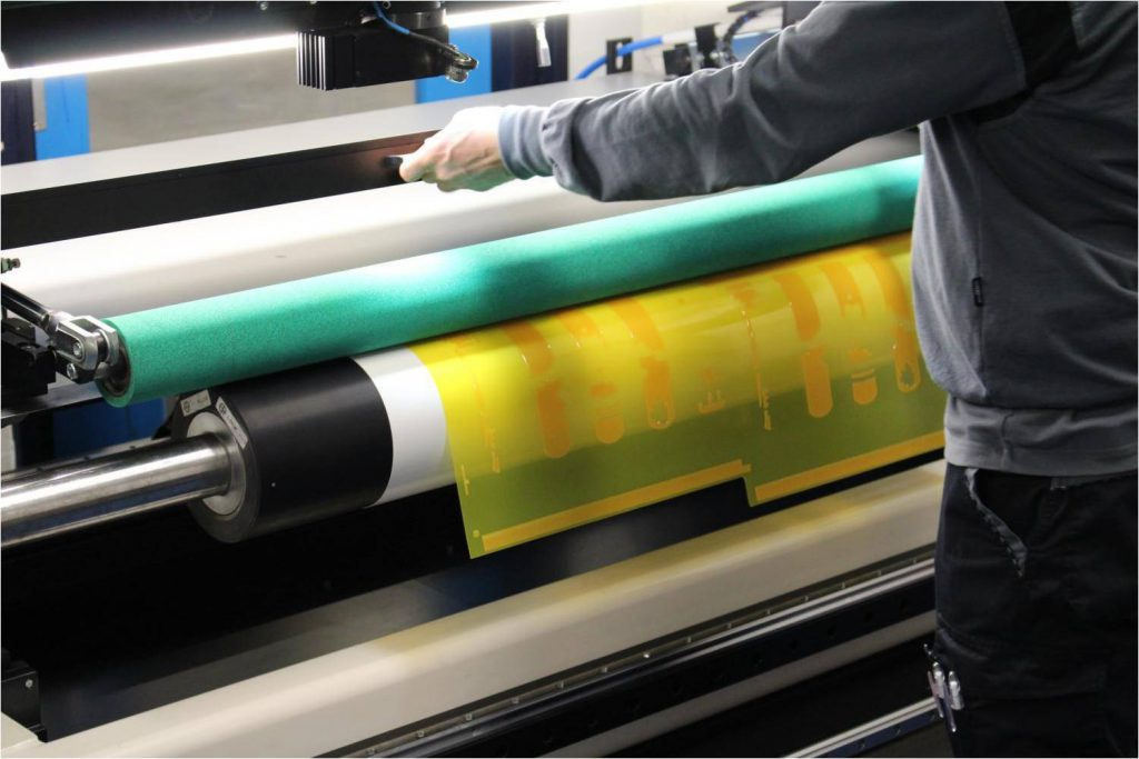 flexography printing for Custom printed poly mailers