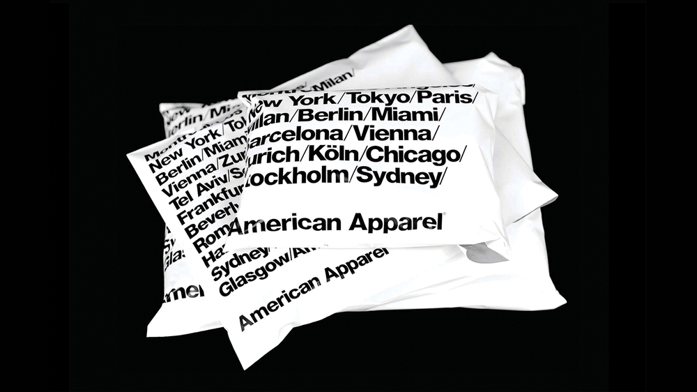 Custom printed poly mailers - screen printing