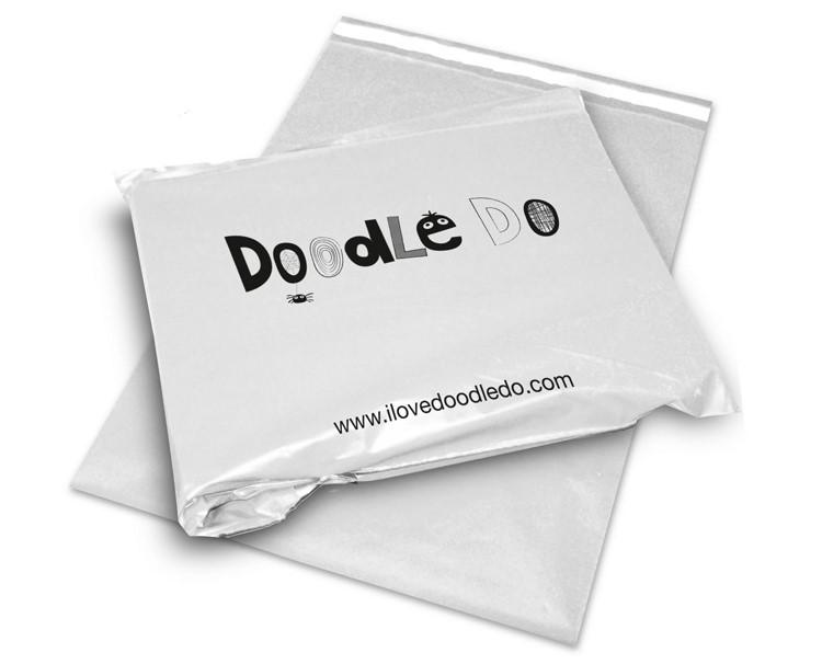 Custom printed poly mailers - rotogravure printing