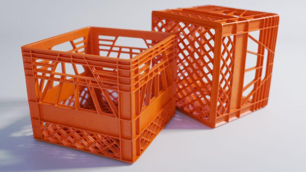 plastic crates- types of crates