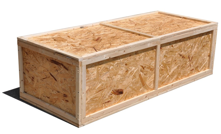 Sheathed crates- types of crates