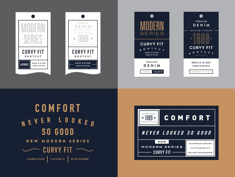 Examples of font styles taken from Canva