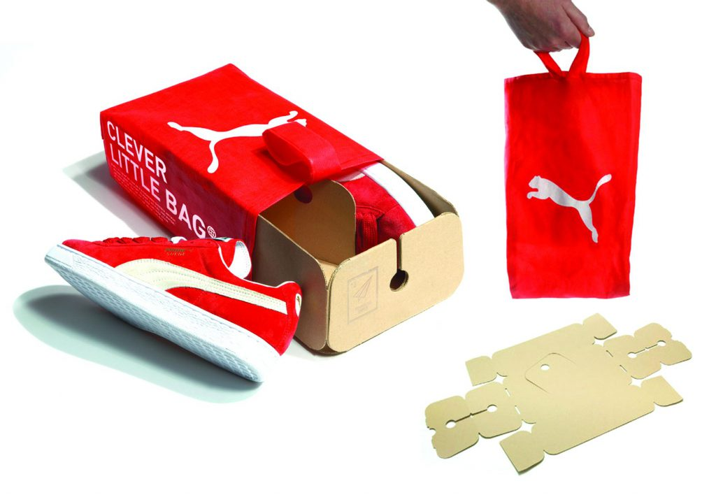 Puma Shoes Box- sustainable packaging