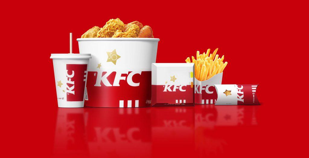 KFC- sustainable packaging