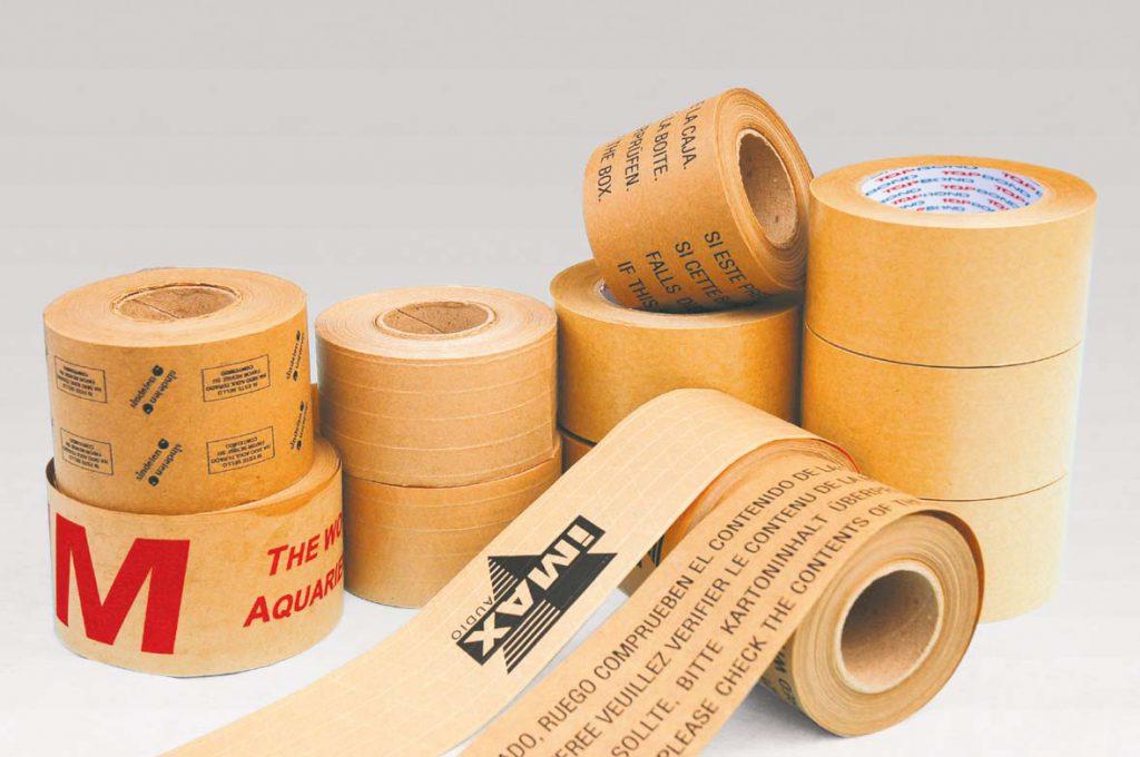 Gummed Kraft paper tape  - Type of Tapes
