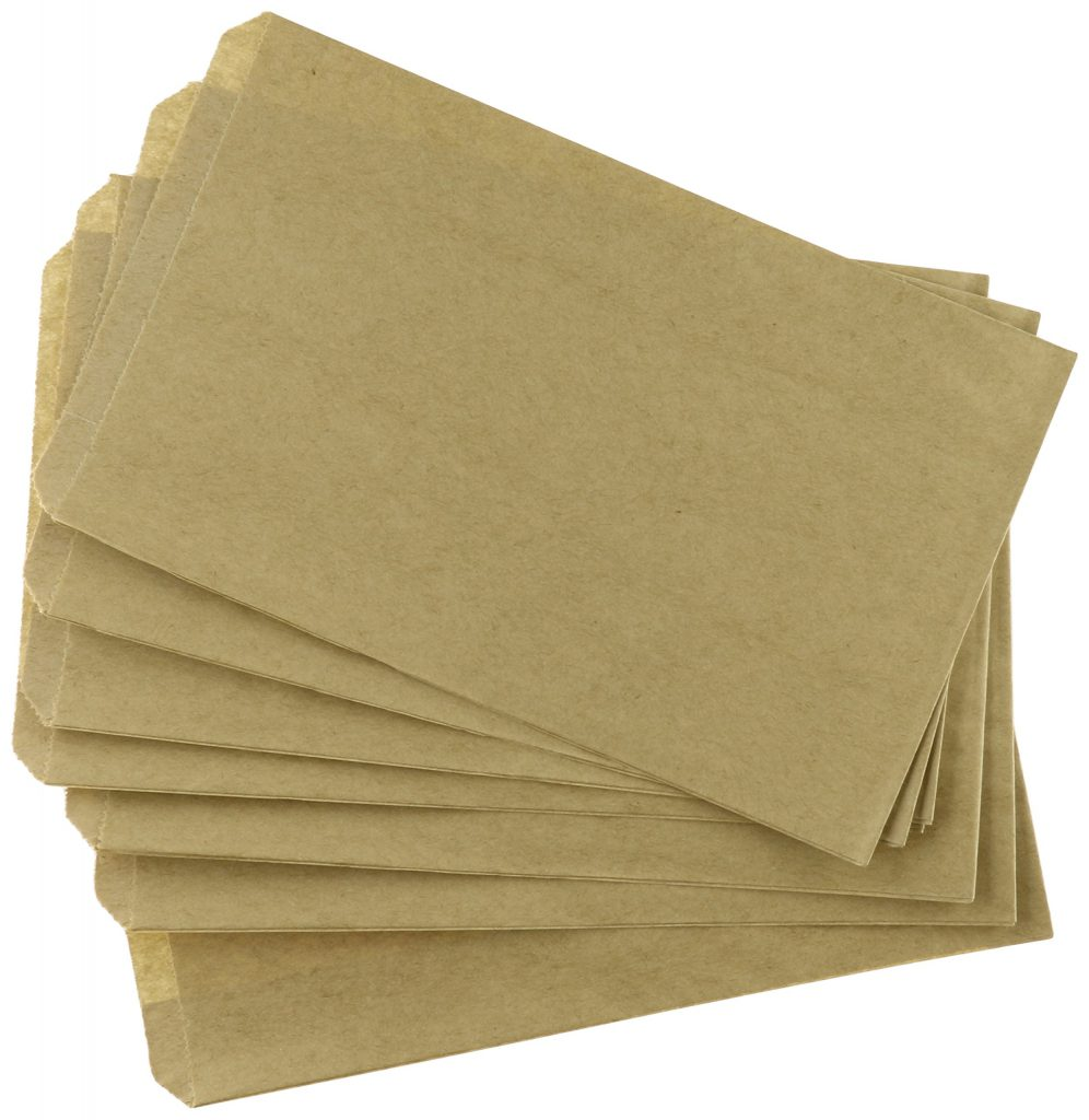 pinch bottom bags - Type of Paper Bags