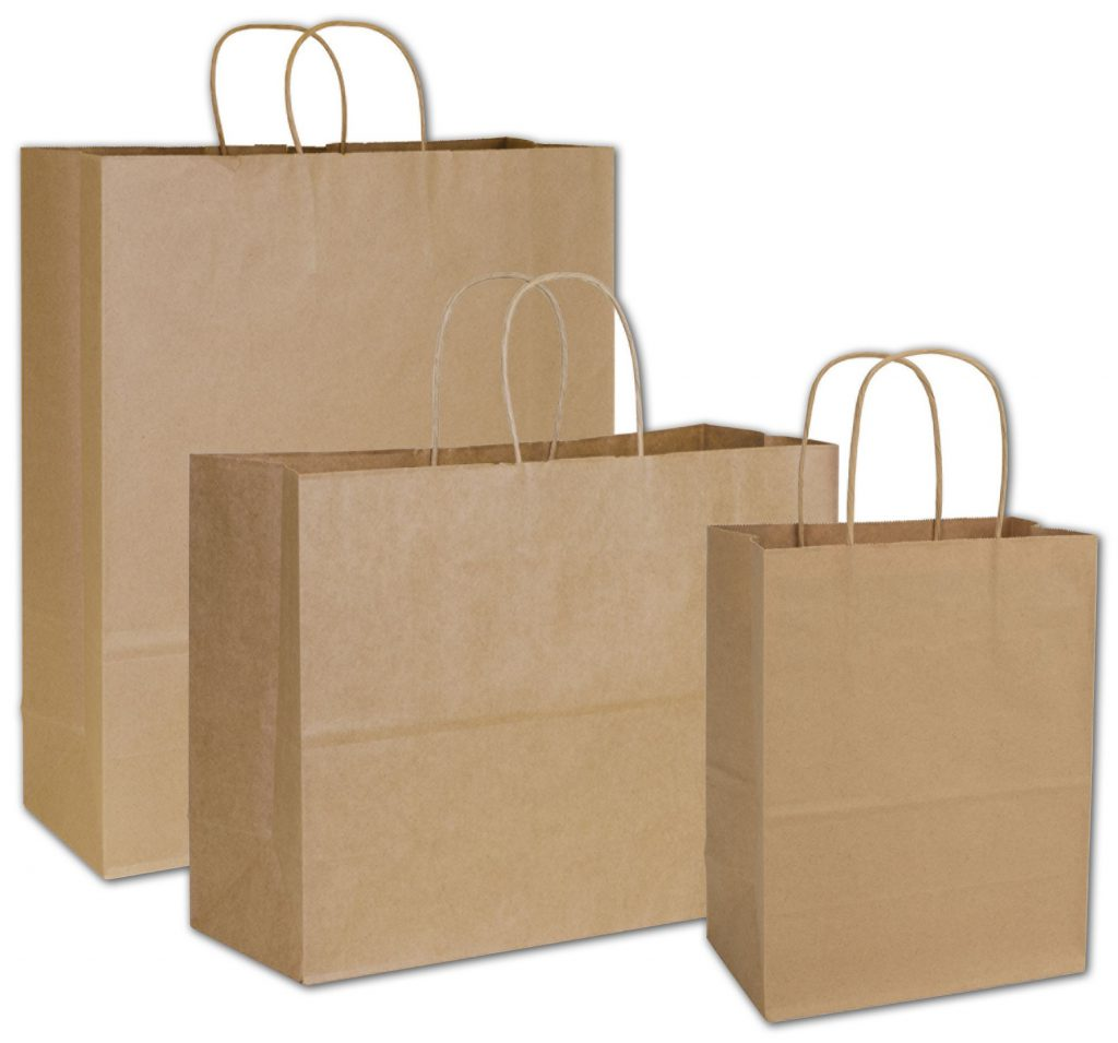 kraft paper bag - Type of paper bags