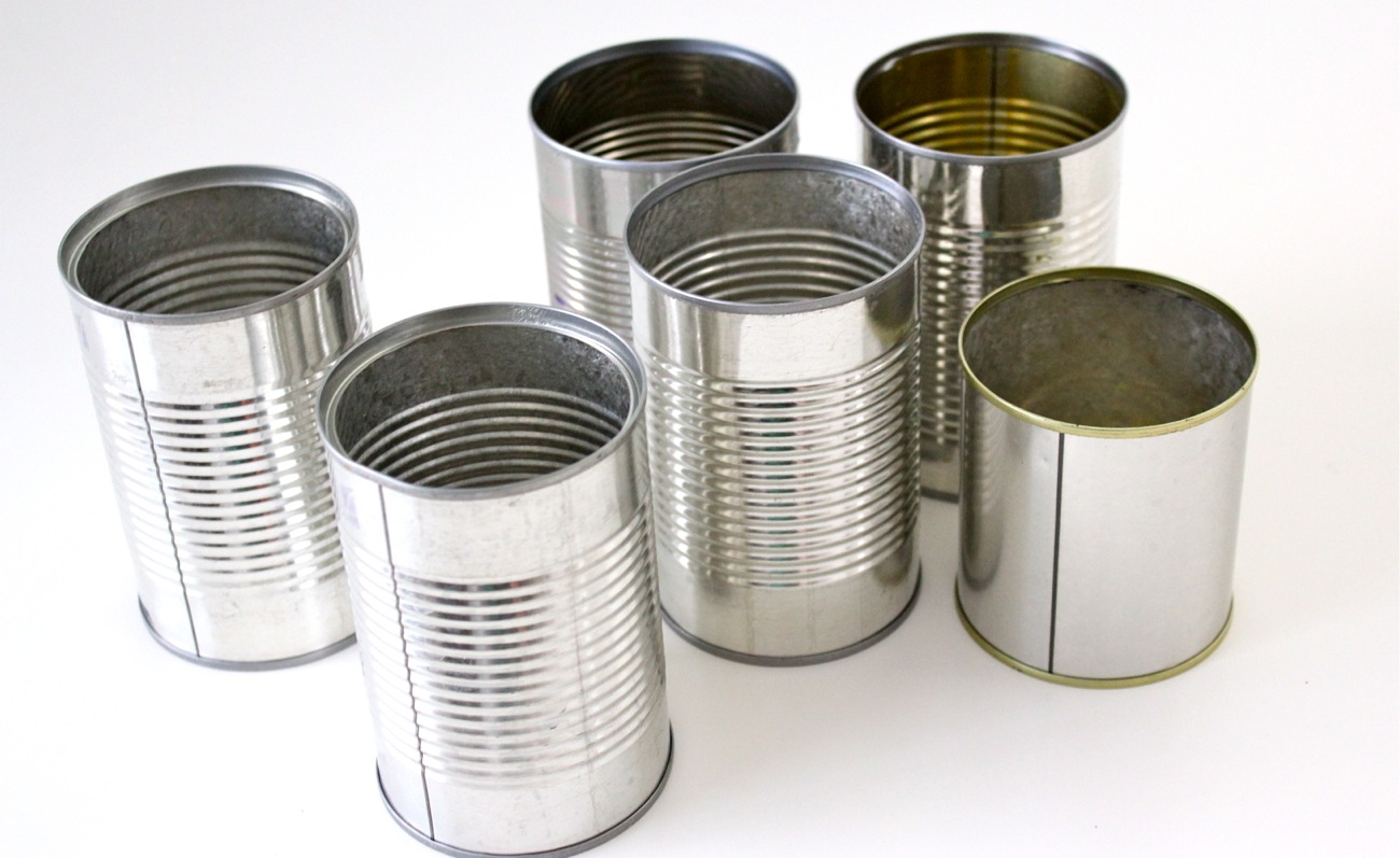 Tin Cans - Primary Packaging