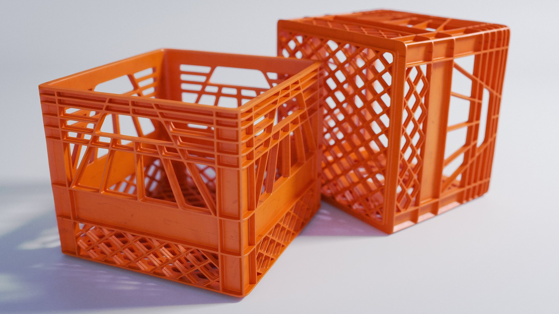 Plastic Crates - Secondary Packaging