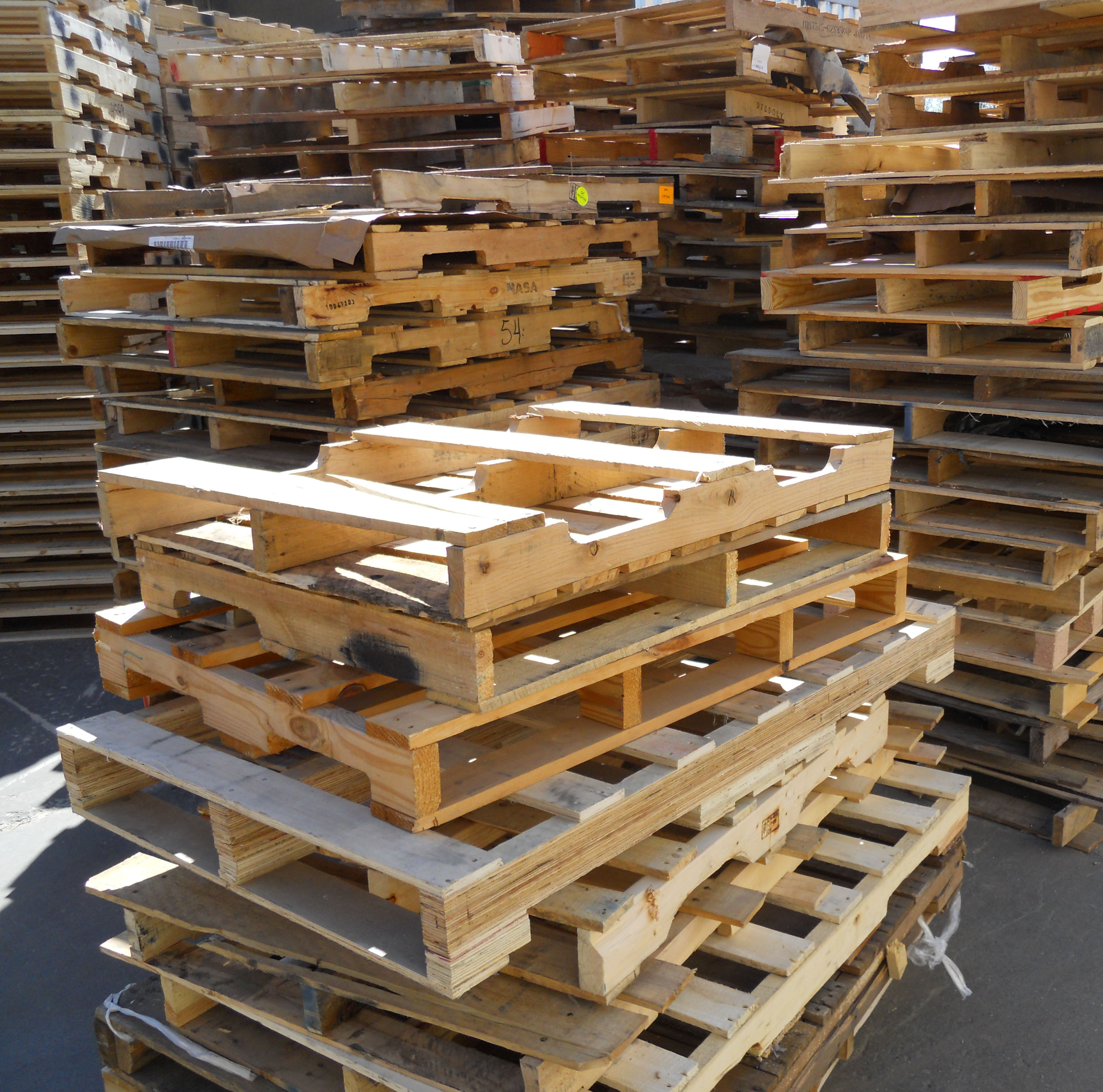 Wooden Pallet - Tertiary Packaging