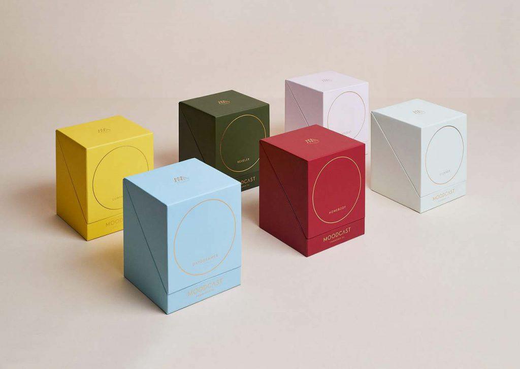 Packaging color palette