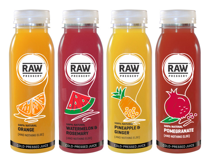 Food Packaging Trend - Minimal Packaging - RAW Juices