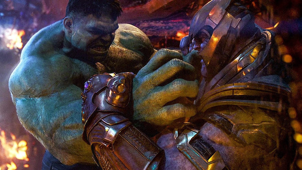 Image result for hulk and thanos