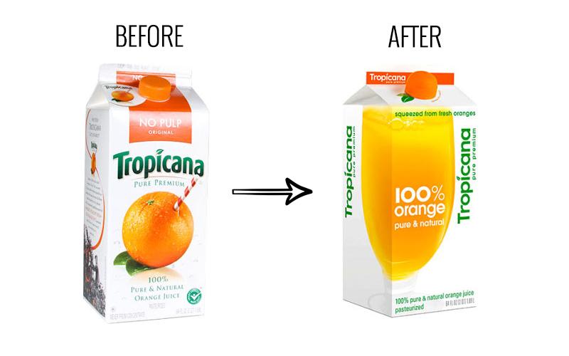 tropicana-packaging design and development