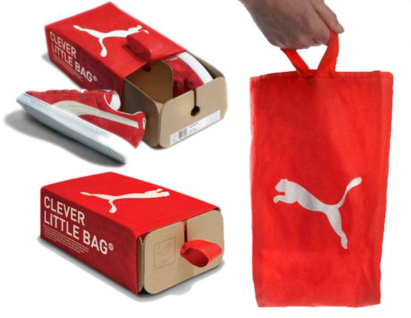 Puma - sustainable packaging design