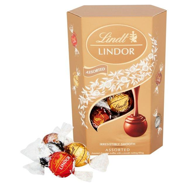 Lindt Lindor- Chocolate Packaging