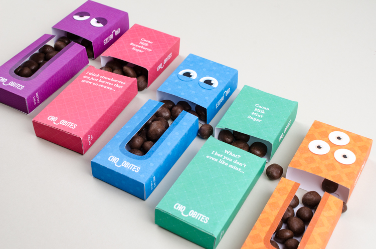 Chocobites- Chocolate Packaging