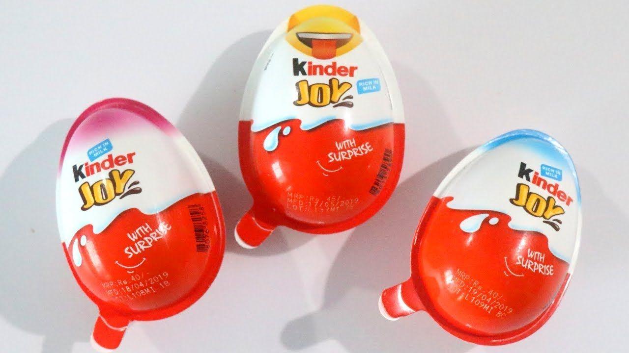 Kinder Joy - Egg-Shaped Packaging